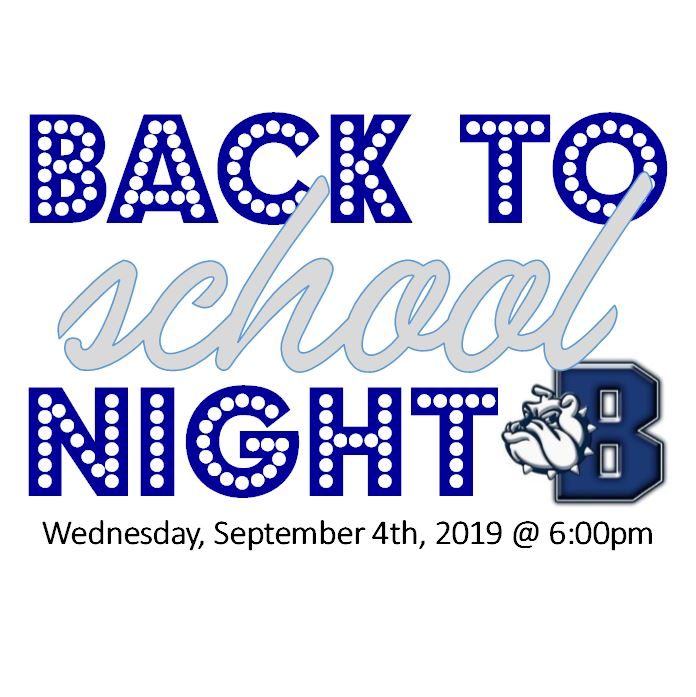 bACK TO sCHOOL nIGHT lOGO