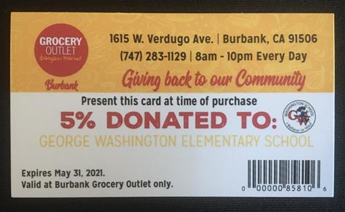 grocery outlet give back card