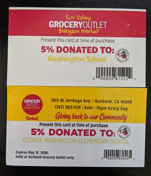 Grocery Outlet Discount Card