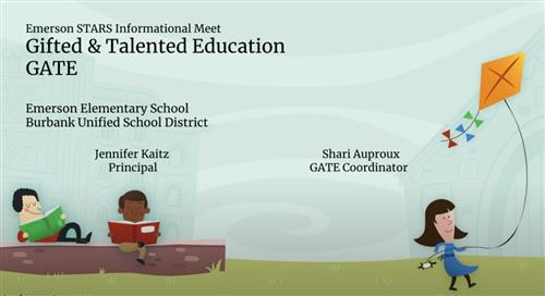 link to Gifted and Talented Education Slide Presentation