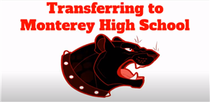Transferring to Monterey High School Panther picture
