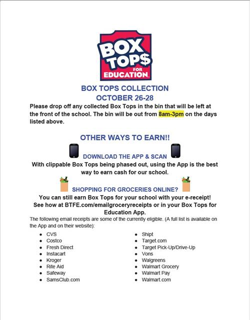 Link To Box Tops Pick Up PDF