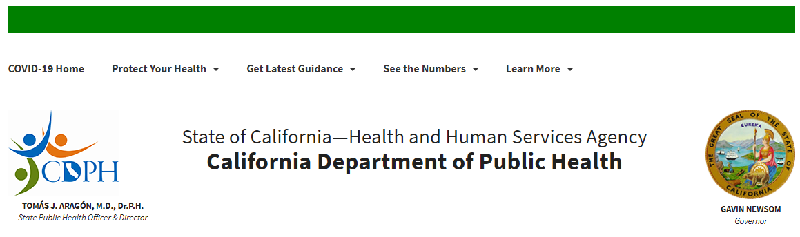 CA Promotion Health Guidelines