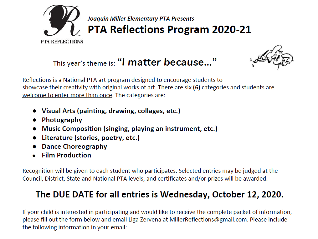 PTA Reflections 2020