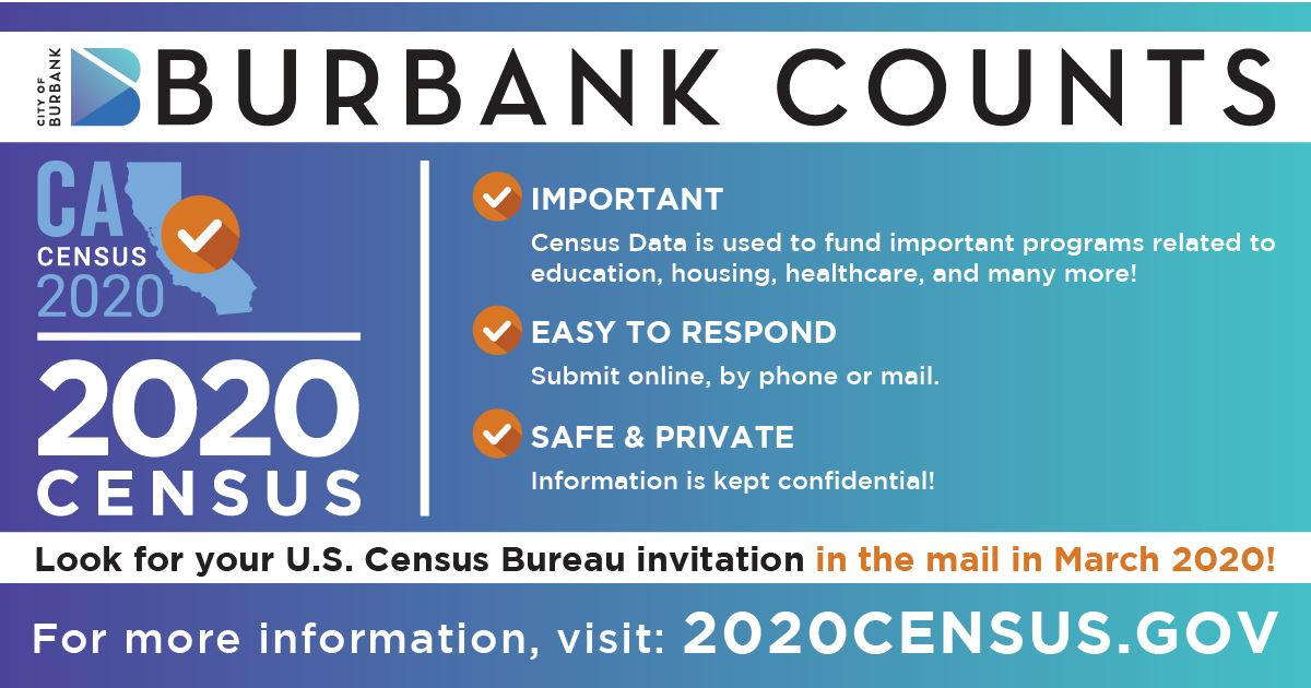 Burbank Counts Census 2020