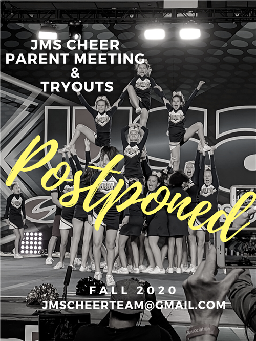cheer tryouts postponed