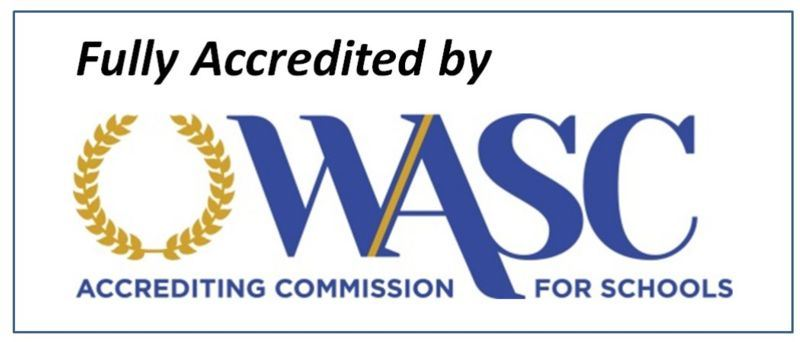 fULLY aCCREDITED BY wasc aCREDDITING cOMISSION FOR SCHOOLS