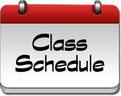 Check Class Schedules and Make Change Requests