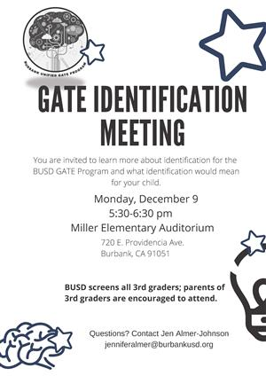 Gate Identification Meeting