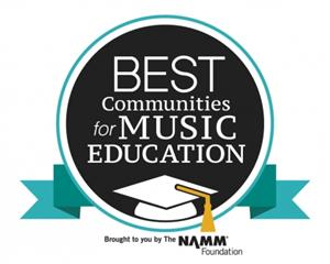 Burbank Unified School District Recognized Nationally As One of the Best Communities for Music Educa