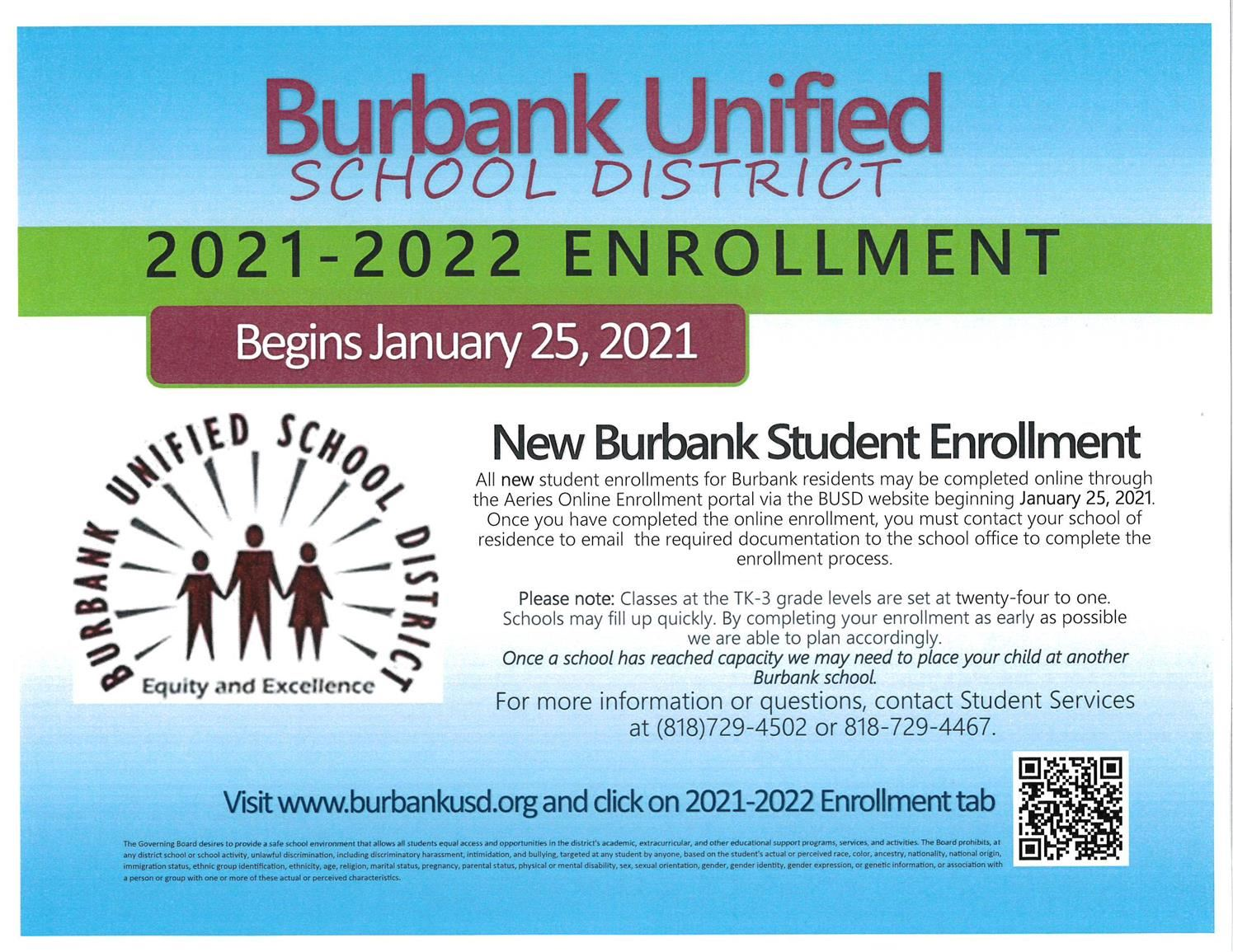 FOR 2021-2022 ENROLLMENT INFORMATION PLEASE CLICK HERE