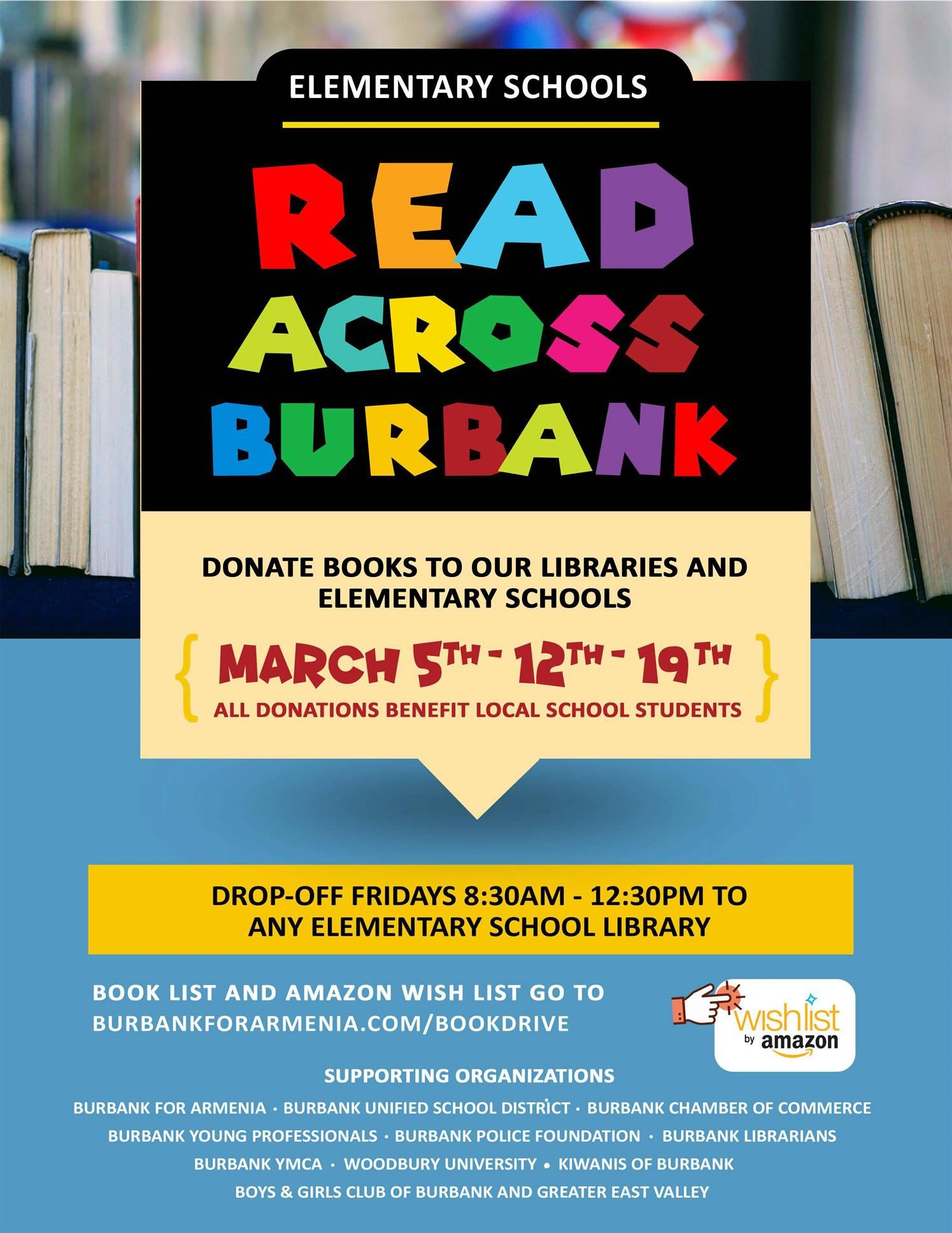 Elementary School Book Drive