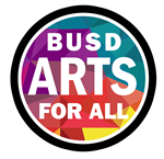 BUSD Arts for All logo