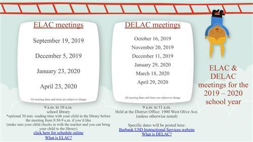 Elac Winter 2020.English Learner Program Eld Elac Delac Schedule