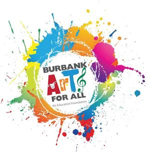 Burbank Arts for All Foundation logo