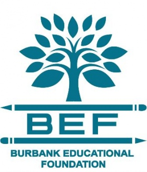 Burbank Education Foundation logo