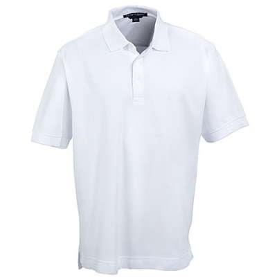 Photo of an example of a white shirt with a collar