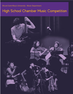 Mount Saint Mary's U Music Dept High School Competion decorative