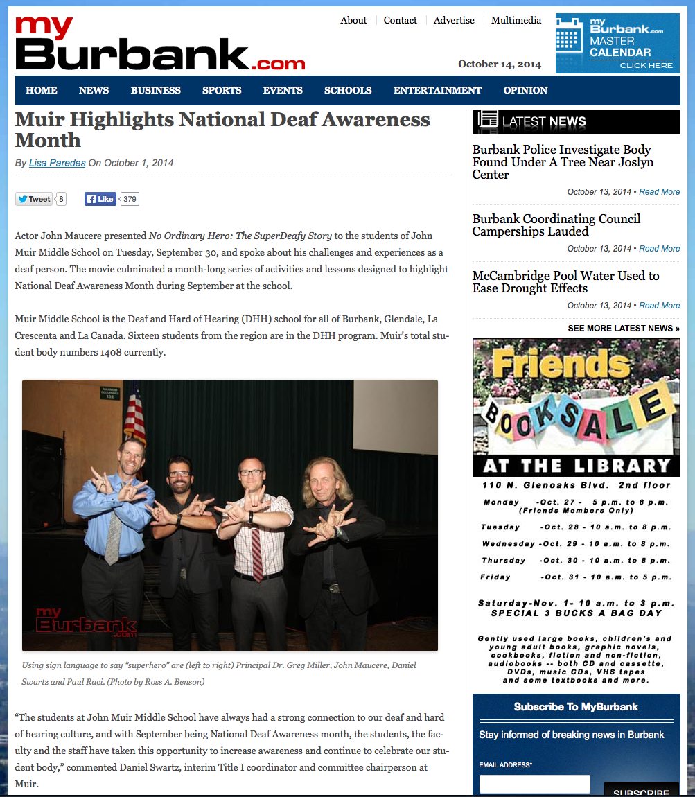 myburbank.com muir article
