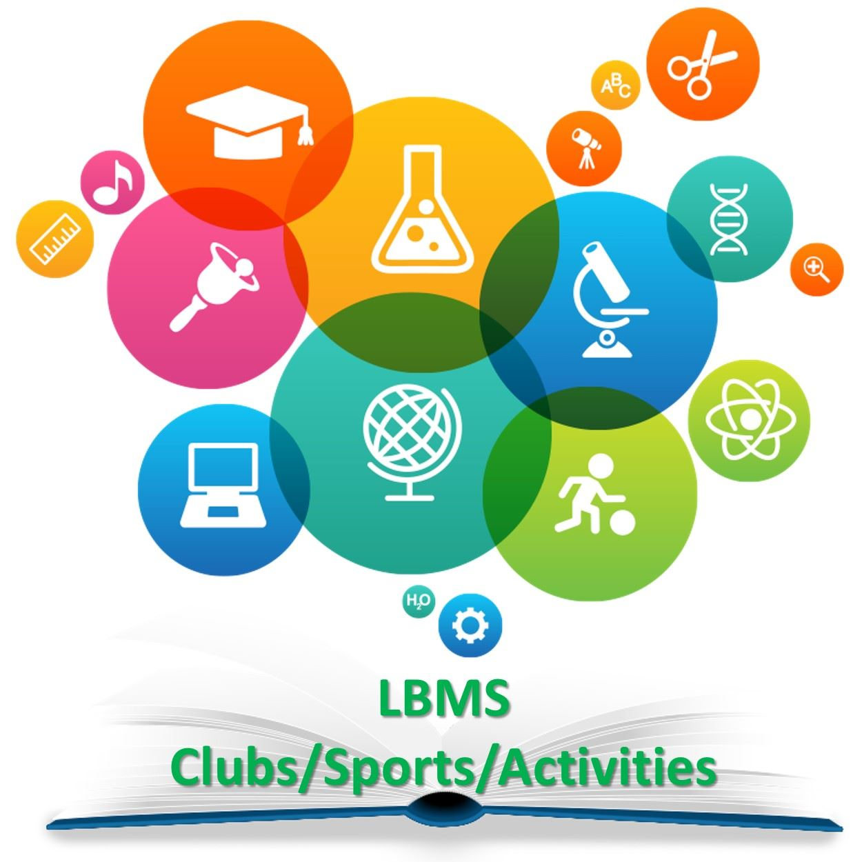 LBMS Sports/Clubs/Activities Logo