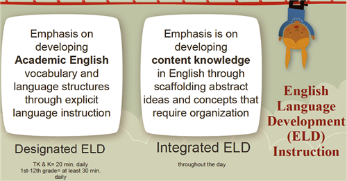 Information about designated and integrated ELD